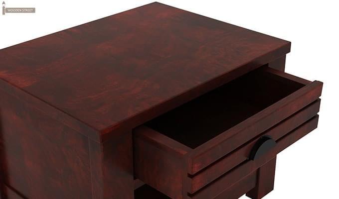 Felner Bedside Table (Mahogany Finish)-5