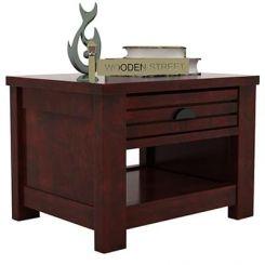 Felner Bedside Table (Mahogany Finish)