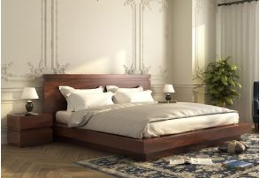 Florian Double Bed Without Storage Modern Design