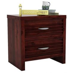 Gayle Bedside Table (Mahogany Finish)