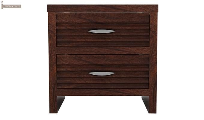 Gayle Bedside Table (Walnut Finish)-4
