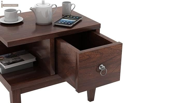 Helix Bedside Table (Walnut Finish)-5
