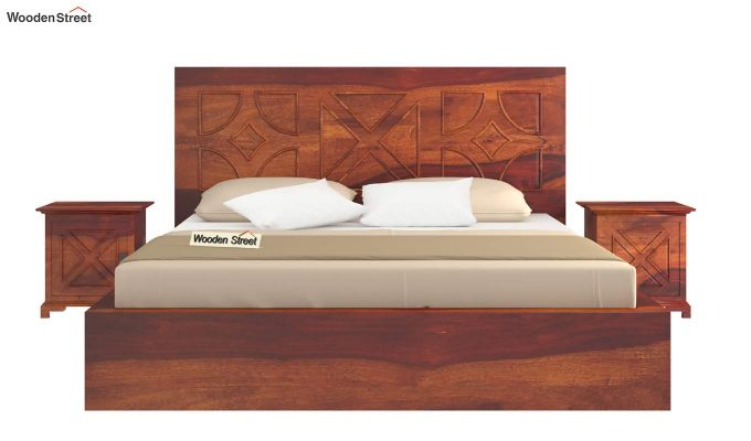 Martin Bed Without Storage (Queen Size,Honey Finish)-3