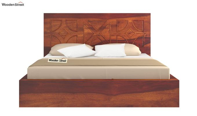 Martin Bed Without Storage (Queen Size,Honey Finish)-5