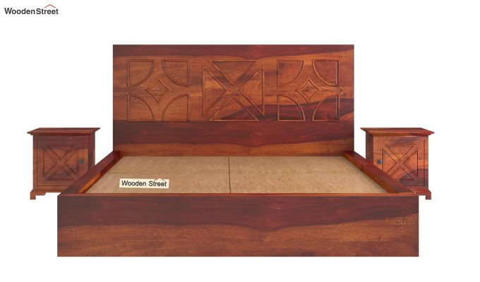 Martin Bed Without Storage (Queen Size,Honey Finish)-7