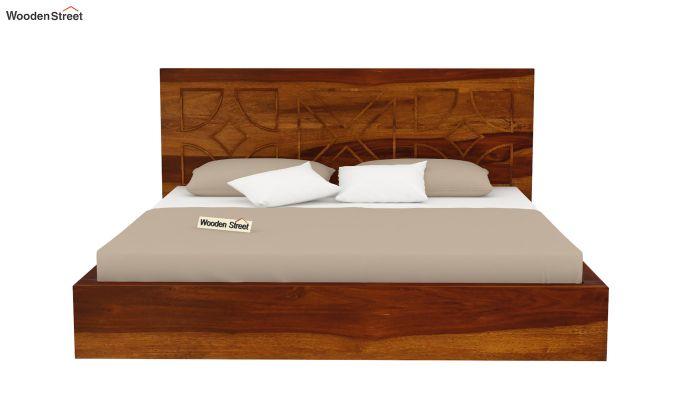 Martin Bed Without Storage (King Size,Honey Finish)-5
