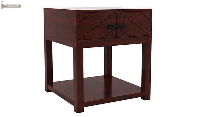 Neeson Bedside Table (Mahogany Finish)-3