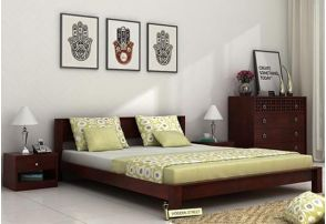 Platform Double Bed Box Type Designs