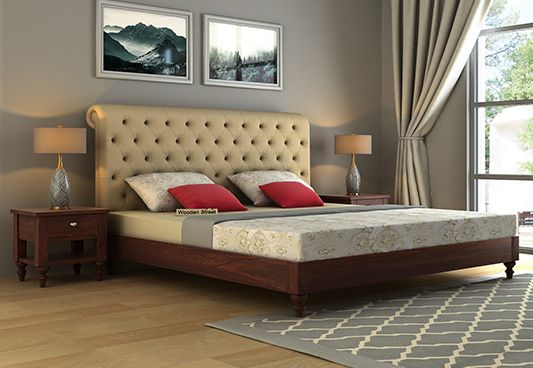 Custom Upholstered Beds Online India