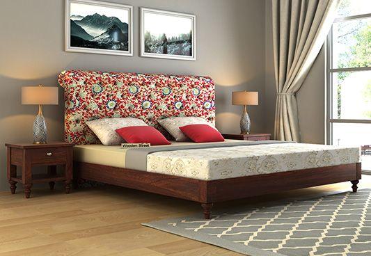 King Size Upholstered Bed Online