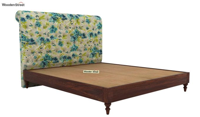 Samberg Upholstered Bed Without Storage (King Size, Teal Tulip)-4