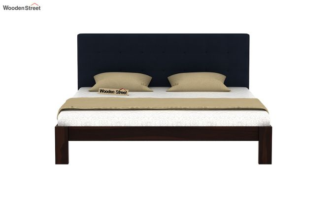 Wagner Upholstered Bed Without Storage (King Size, Indigo Ink)-3
