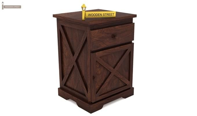 Warner Bedside Table (Walnut Finish)-3