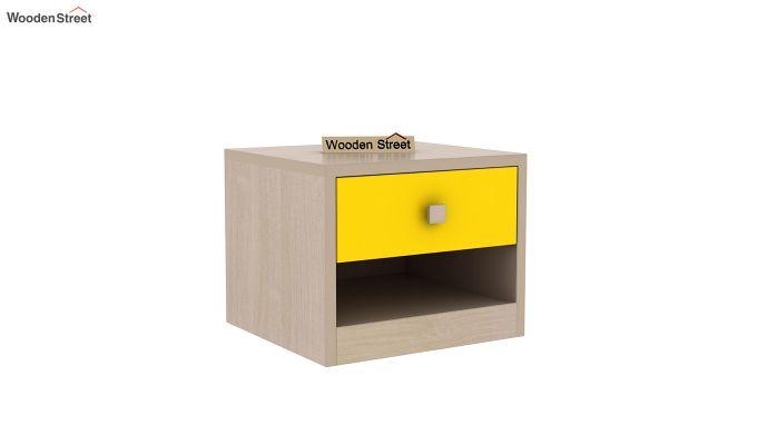 Marina Kids Bedside Table (Marigold Yellow)-2