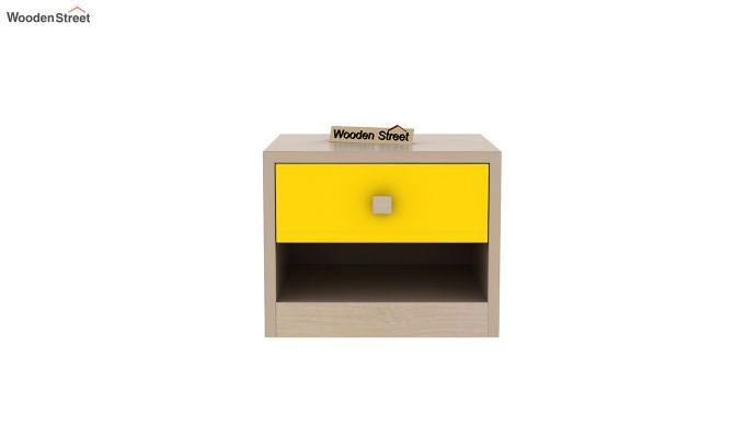 Marina Kids Bedside Table (Marigold Yellow)-3