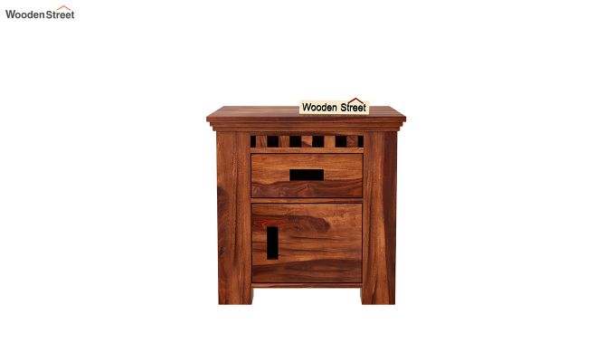 Adolph Bedside Table (Honey Finish)-3