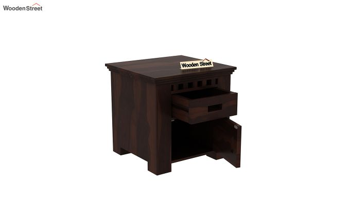 Adolph Bedside Table (Walnut Finish)-4