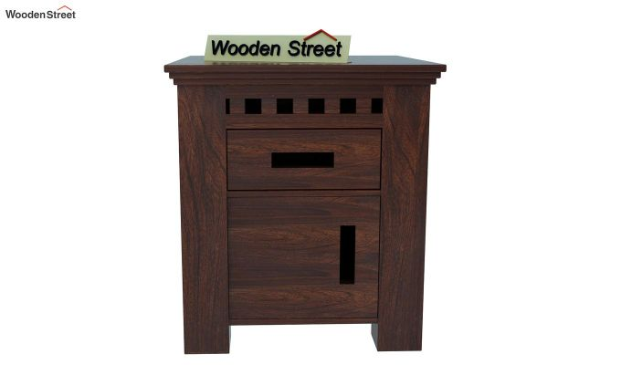 Adolph Bedside Table (Walnut Finish)-2