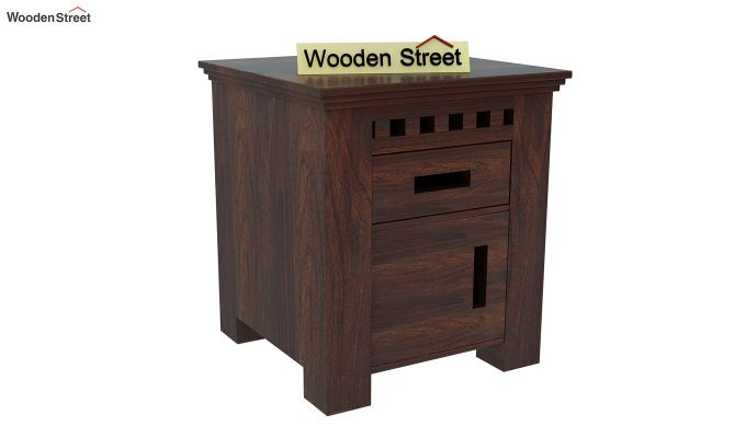 Adolph Bedside Table (Walnut Finish)-3