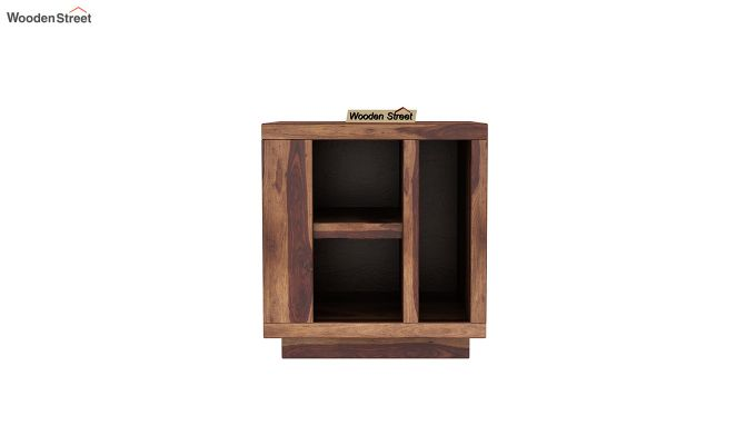 Alanzo Bedside Table (Teak Finish)-3