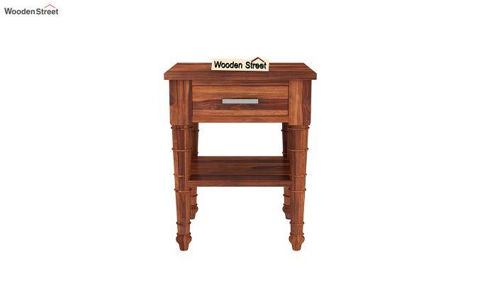 Allan Bedside Table (Honey Finish)-3