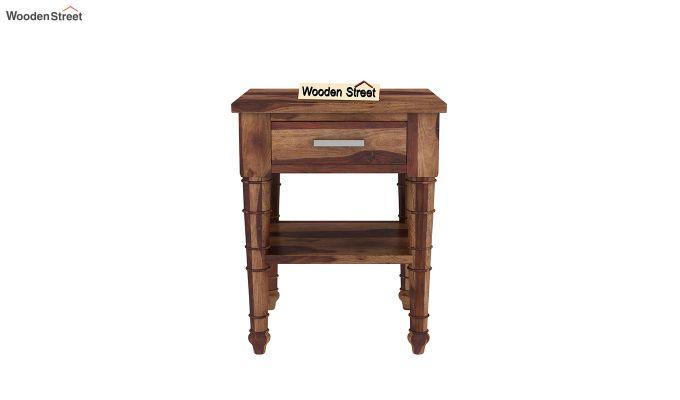 Allan Bedside Table (Teak Finish)-3