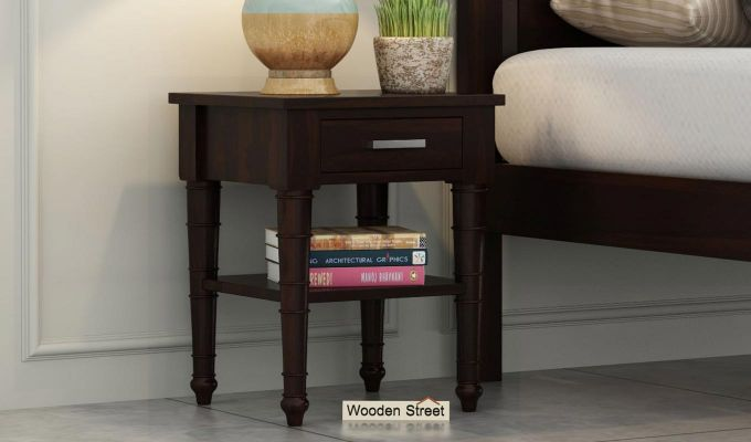 Allan Bedside Table (Walnut Finish)-1