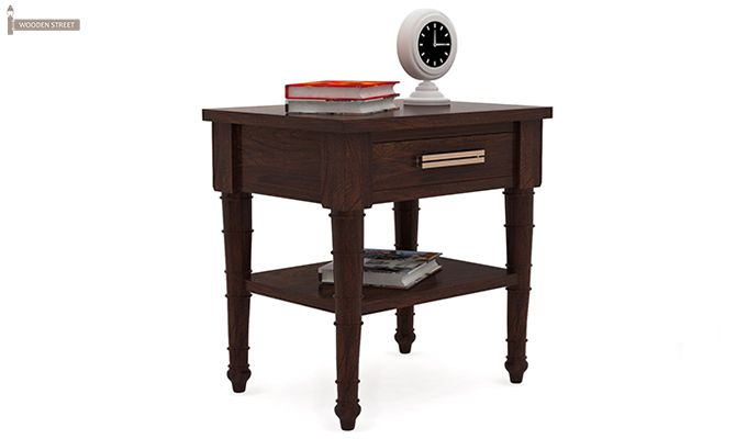Allan Bedside (Walnut Finish)-2