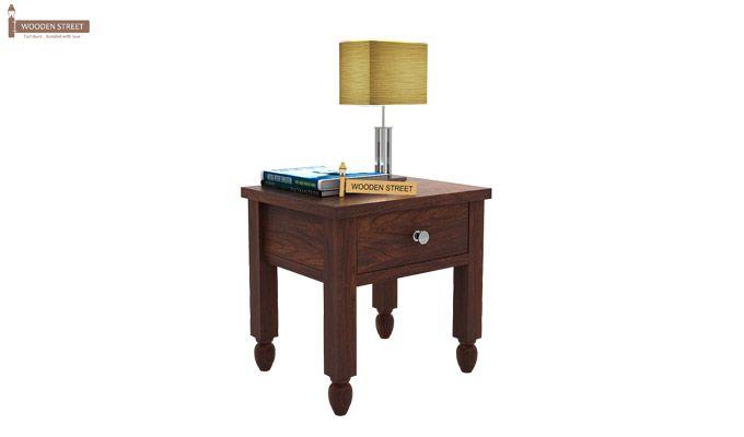 Allure Bedside Table (Walnut Finish)-1