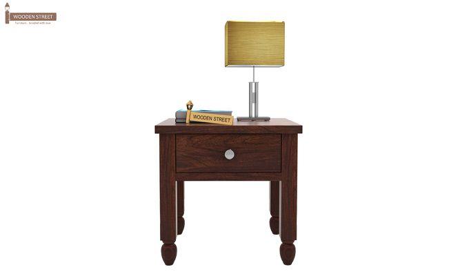 Allure Bedside Table (Walnut Finish)-2