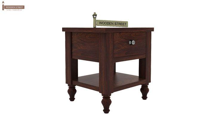 Alpine Bedside Table (Walnut Finish)-3