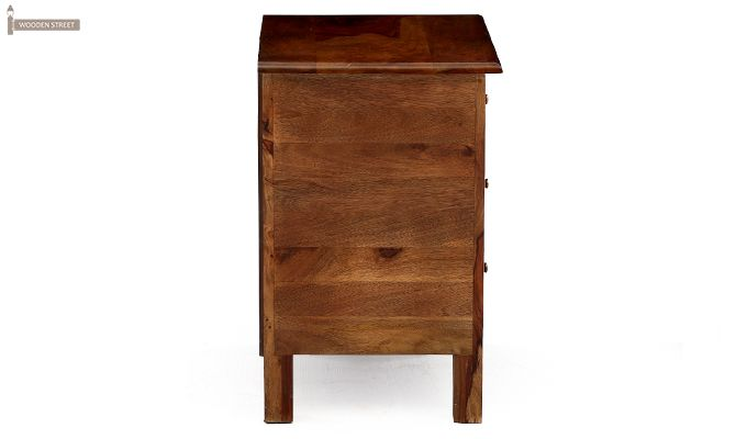 Alvis Bedside Table (Teak Finish)-10