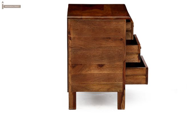 Alvis Bedside Table (Teak Finish)-11