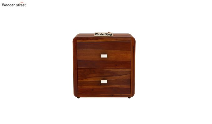 Aron Bedside Table (Honey Finish)-3