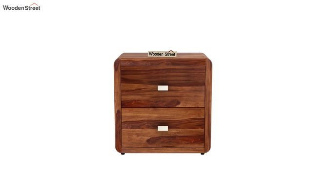 Aron Bedside Table (Teak Finish)-3