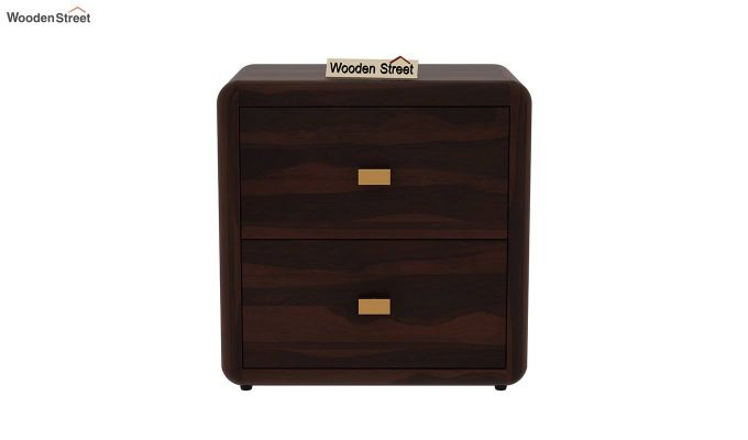 Aron Bedside Table (Walnut Finish)-3