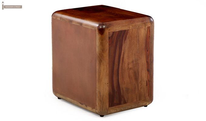 Aron Bedside Table (Teak Finish)-10