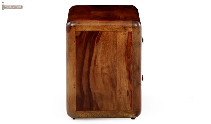 Aron Bedside Table (Teak Finish)-8