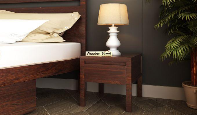 Bacon Bedside Table (Walnut Finish)-1