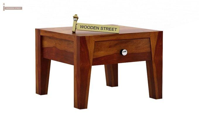 Bois Bedside Table (Honey Finish)-1