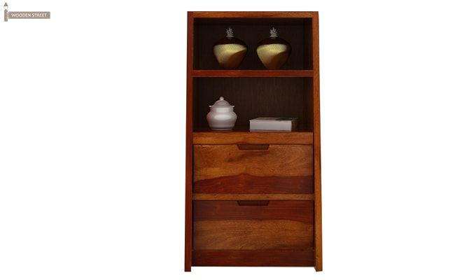 Bolivia Bedside Table (Honey Finish)-3
