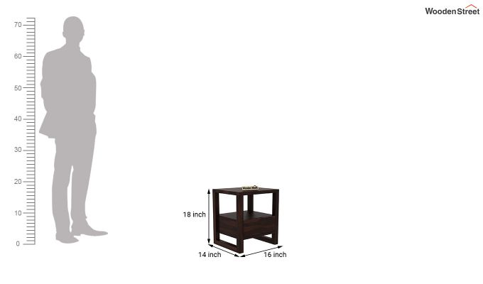 Bryson Bedside Table (Walnut Finish)-5