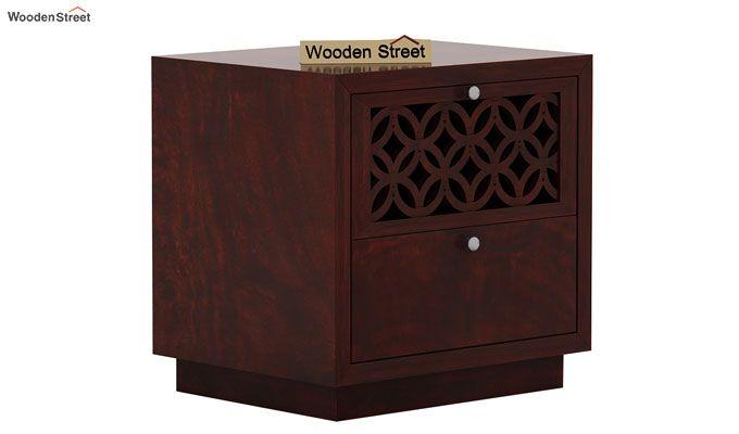 Cambrey Designed Bedside Table (Mahogany Finish)-3