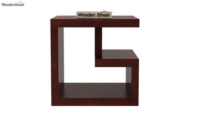 Carden Bedside Table (Mahogany Finish)-3