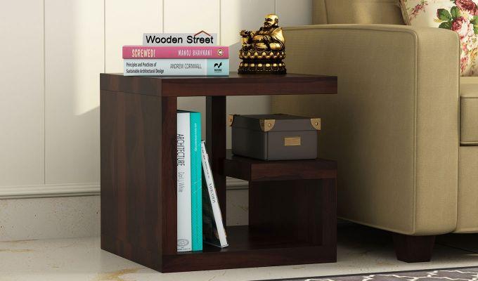 Carden Bedside Table (Walnut Finish)-1