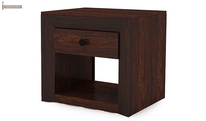 Carvel Bedside Table (Walnut Finish)-4