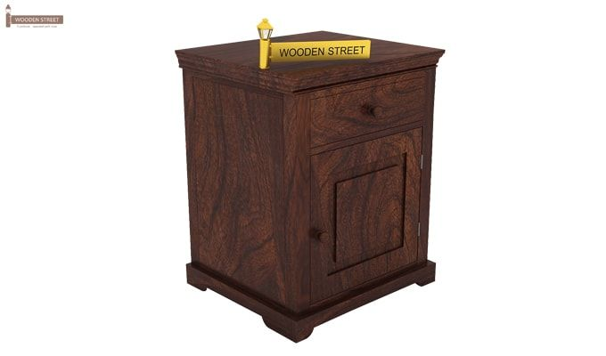 Charles Bedside Table (Walnut Finish)-2