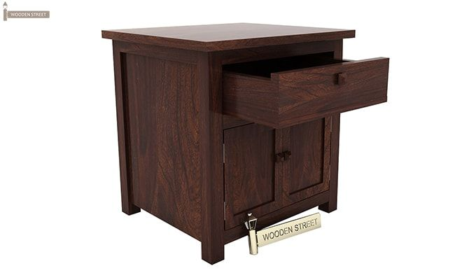 Christina Bedside Table (Walnut Finish)-5