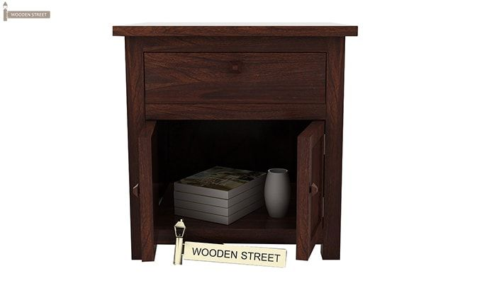 Christina Bedside Table (Walnut Finish)-3