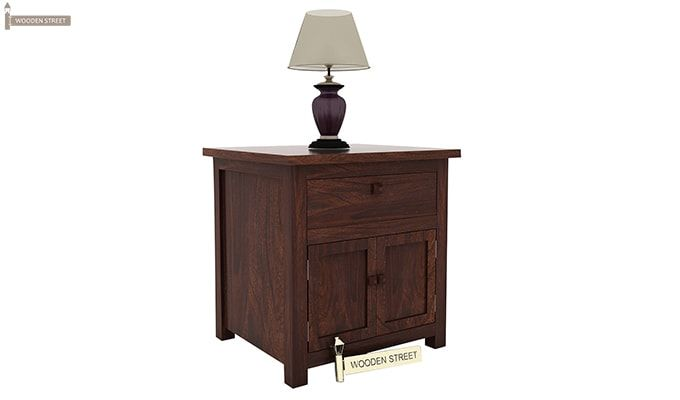 Christina Bedside Table (Walnut Finish)-4